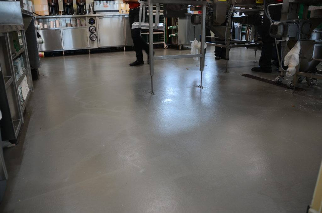 This is a picture of a commercial concrete floors.